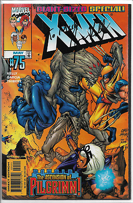 X-Men 75 SIGNED by writer Joe Kelly (Deadpool) VF Wolverine Storm Beast Pacheco