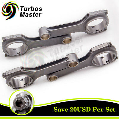 Connecting Rods fit for Peugeot 309 GTI 405 MI16 1.9 S16 XU9J4 TUV Certified