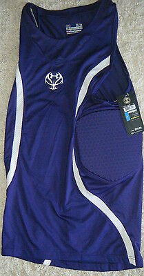 New Under Armour UA Compression Padded Tank Hip Tail Basketball Football $59.99