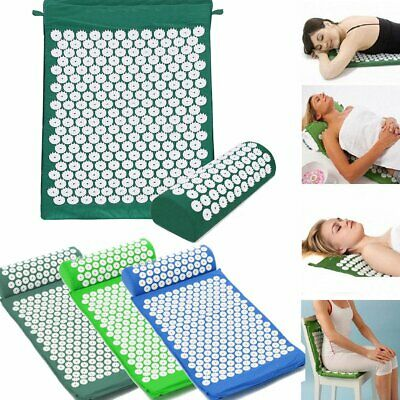 Massage Acupressure Mat Yoga Shakti Sit Lying Mats Relieve Pain Stress Soreness
