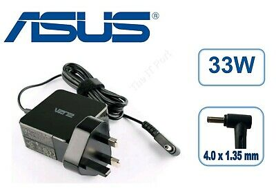 Genuine ASUS VivoBook S200 S200E 19V 1.75A 33W AC Adapter Laptop Charger