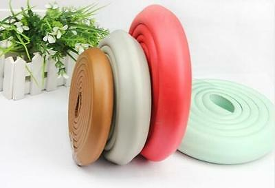 Kids Baby Table Edge Corner Protect Safety Soft Rubber Foam Bumper Strip 2M