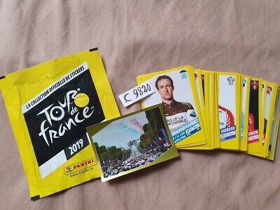(25) tour de france panini 2019 lot de  8  stickers vignettes au choix cycliste