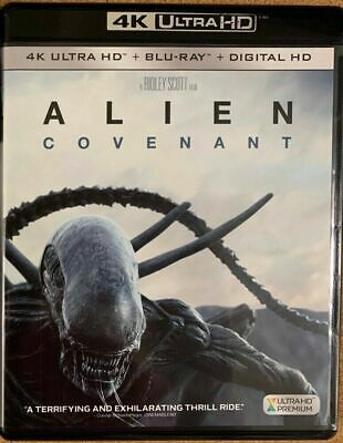 Alien Covenant 4K Ultra Hd Blu Ray 2 Disc Set Free World Wide Shipping Buy Itnow