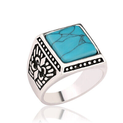 Ethnic-style Ancient Silver Ring Unique Finger Ring Ornament Gift