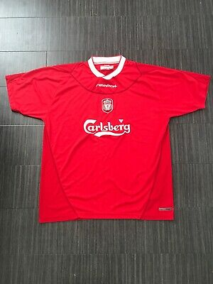 6cf111fa3 HOME SHIRT REEBOK LIVERPOOL FC 2002-04 (L) Jersey Adult LARGE VINTAGE CL