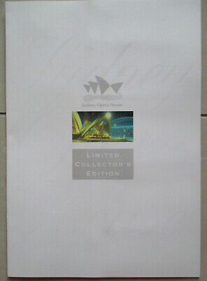 Sydney Opera House Pack limited Edition Telecom Phonecards Pack Mint