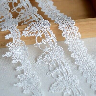 35 Designs! Gothic Art Deco Fine Delicate LACE TRIM Sewing Ribbon Craft Dress
