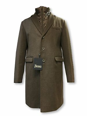 Herno outerwear in brown cashmere rrp £1295.00