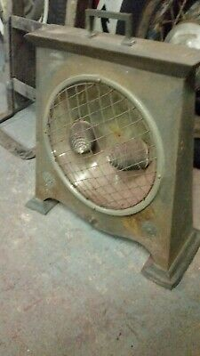 antique copper space heater steampunk mancave patina collector