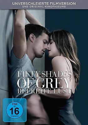 Fifty Shades Of Grey 3 - Befreite Lust - Unverschleierte Filmversion Dvd Neu Ovp