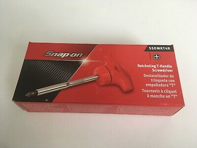 Snap On Ratcheting T-Handle Screwdriver SSDMRT4R