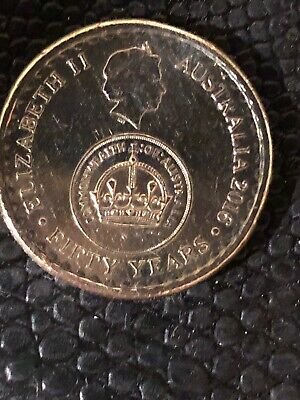 2016 Australian $2 Two Dollar Coin Changeover 50th Anniversary