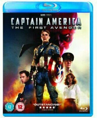 Captain America: The First Avenger [Blu-ray] [Region Free] [DVD][Region 2]