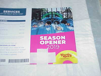 Wisconsin Dells Season Opener  Cards, * Free Noahs  Ark, Circus World, Lower Del