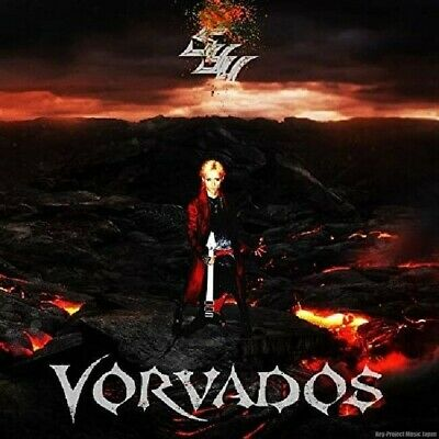 Syu Vorvados 2019 1st Solo Album CD GALNERYUS New w/Tracking No. From Japan