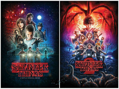 Stranger Things The Complete Seasons 1-2 (DVD,2017,5-Disc Box Set) UK/compatible
