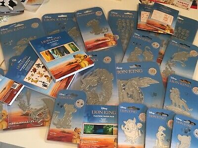Tattered Lace Disney Lion King Die Bundle With Charisma Pad,Stamps, Ltd Edition