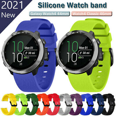 For Garmin Forerunner 645/Vivoactive 3 Music Silicone Bracelet Strap Watch Band