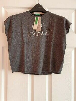 BNWT United Colours Of Benetton Girl's Top Age 6-7