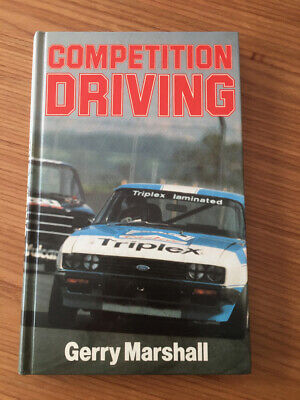 Competition Driving by Gerry Marshall. Free Postage