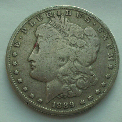Coin Münze 1 Dollar USA 1889 O 900 Silber Morgan dollar