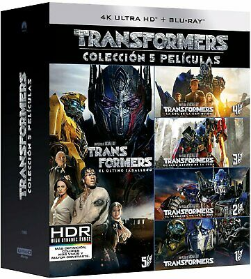 Pack: Transformers 1-5 bluray - 4k