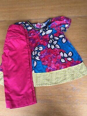 Monsoon, Girls, Blouse and Capris, Set, Age 12, EUC