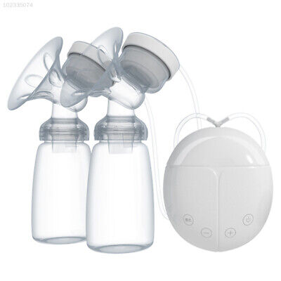 04D8 Double Breast Pump Mother Milk Baby Feeding Pumping Suction Pump