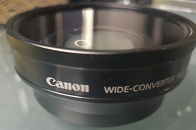 Genuine Canon WD-H58W Wide Converter Lens 0.8x made in japan