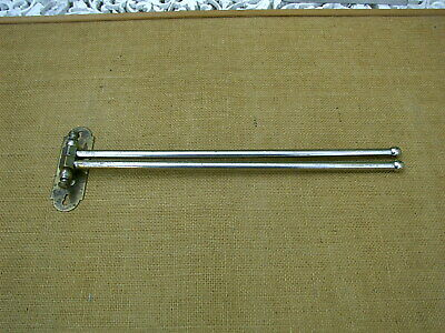 Vintage Twin Towel Rail Holder Wall Mounted Tea towel Clothes Drier Airer