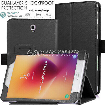 """Slim Folding Flip Stand Leather Case Cover For Samsung Galaxy Tab A 8"""" T380 T385"""