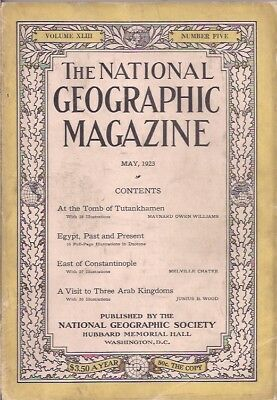 national geographic-MAY 1923-EGYPT,PAST AND PRESENT.