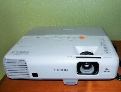Epson PowerLite 905 LCD Projector H387A HDMI Excellent Condition, Small Issues