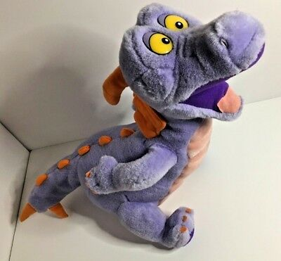 "Disney World EPCOT Figment Imagination 16"" Purple Dragon Plush Stuffed Animal"