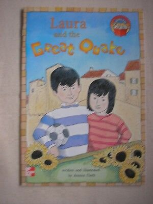 LAURA AND THE GREAT QUAKE (LEVELED BOOKS) ByJessica Clerk EARTHQUAKES