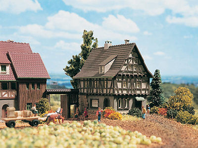 Vollmer 49530 Z Timbered House with Farm Gate # New