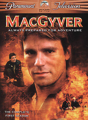 MacGyver - The Complete First Season 1 DVD, 2005, 6-Disc BoxSet! New and sealed!