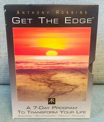Tony Robbins Get The Edge 10 CD Set 7 Day Program To Transform Your Life