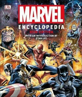 NEW Marvel Encyclopedia - New Edition By DK Hardcover Free Shipping