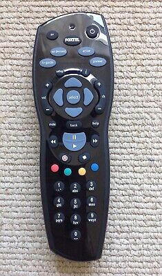 Foxtel IQ2 IR Remote Control - Black (compatible with Foxtel IQ, HD, & others)