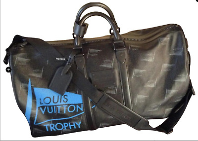 100% GENUINE ~ LOUIS VUITTON Keepall 55 America's Cup Collectors Edition