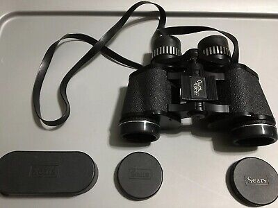Binocular Cases & Accessories Vintage Sears Discoverer Zoom Binoculars Model 473.25850 8x-17x40mm With Case