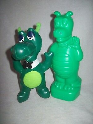 St George Bank - dragon money box / piggy bank & toy mascot dragon