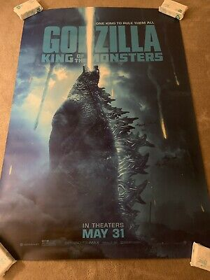 GODZILLA KING OF THE MONSTERS Original Movie Theater BUS SHELTER