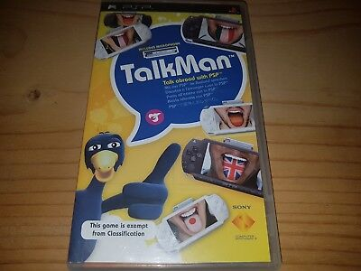 Talkman includes Microphone (Sony PSP, 2009) VGC