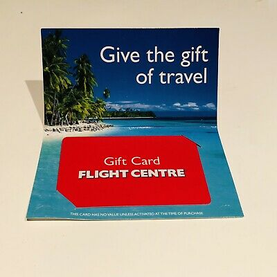 Flight Centre Gift Card / Travel Voucher $500 Exp 10/2021