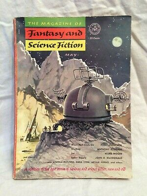 Magazine of Fantasy and Science Fiction - May 1953, Poul Anderson, Ward Moore