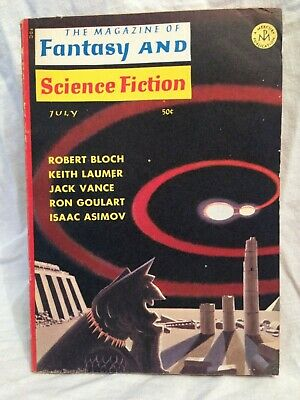 Magazine of Fantasy and Science Fiction - July 1966, Jack Vance, Robert Bloch