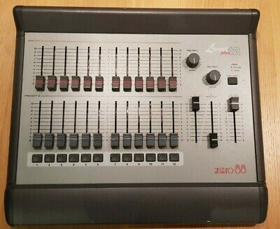 Zero 88 level 12+ PLUS desk stage lighting theatre Tested Working
